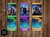 Guardians of the Galaxy Movie Group Birthday Party Ticket Invitation