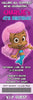 Nick Jr Bubble Guppies Ticket Birthday Invitation