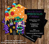 Halloween Spooktacular Birthday Party Invitation