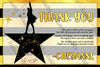 Hamilton - The Musical - Birthday Party - Invitation