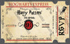 Hogwarts Houses - Harry Potter - Birthday Party - Thank You Card
