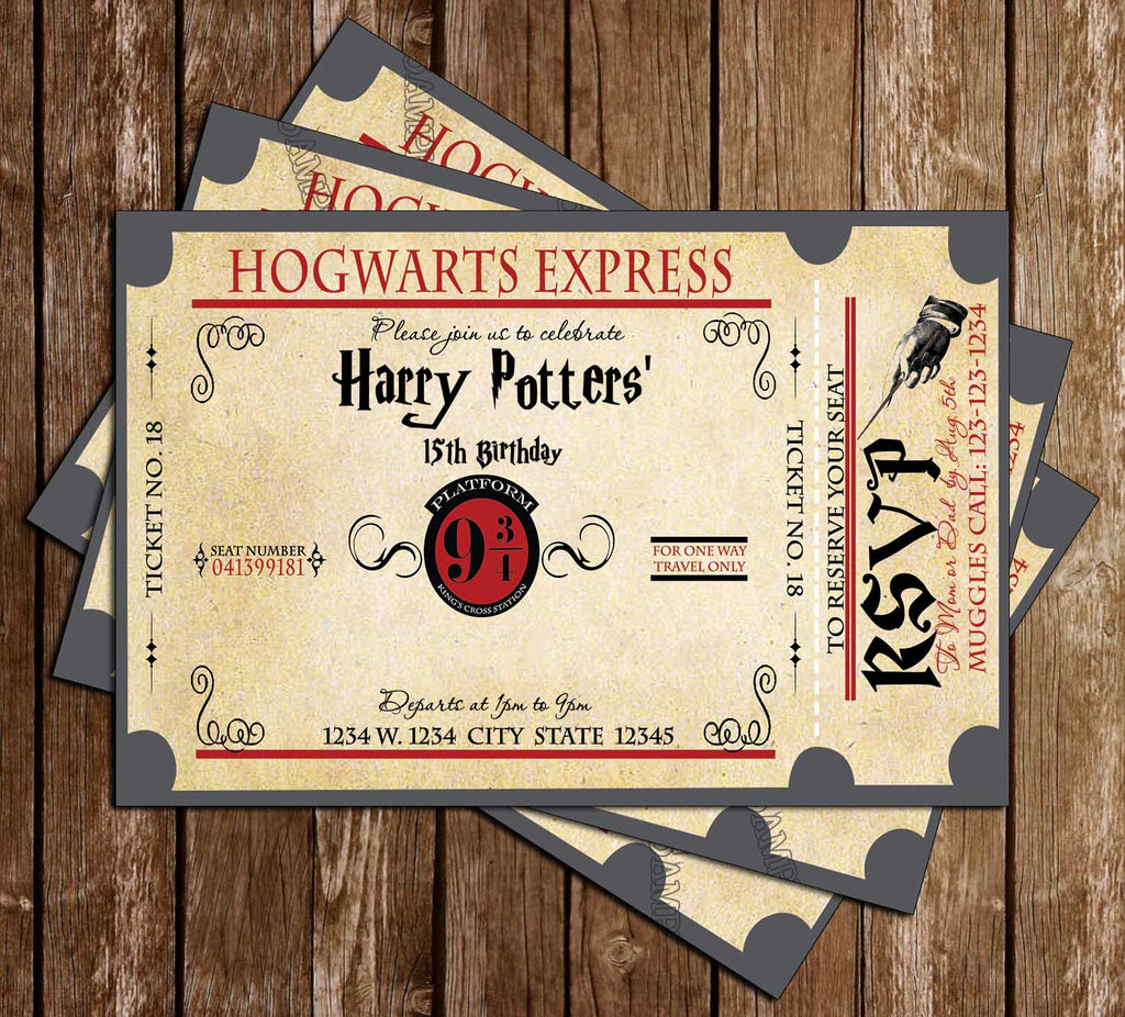 Novel Concept Designs Harry Potter Hogwarts Express Birthday