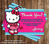 Hello Kitty Birthday Party Thank You Printable