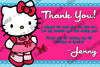 Hello Kitty - Pink - Birthday Party - Invitation