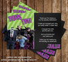 Hotel Transylvania Birthday Party Thank You Card