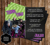 Hotel Transylvania Movie Birthday Party Invitation