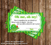The Very Hungry Caterpillar Baby Shower Invitation - Diaper Raffle Tickets