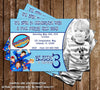 Imagination Movers Birthday Invitation (Photo)