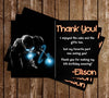 Iron Man Movie Birthday Thank You Card