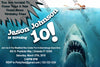 Jaws - Shark - Birthday Party - Invitation