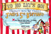 Jake and the Neverland Pirates - Scroll Banner - Birthday Party Invitation