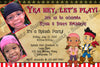 Disney Jake and the Neverland Pirates Birthday Party Invitation