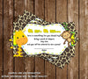 Baby Jungle Animals - Wild Safari - Baby Shower - Bring a Book Insert
