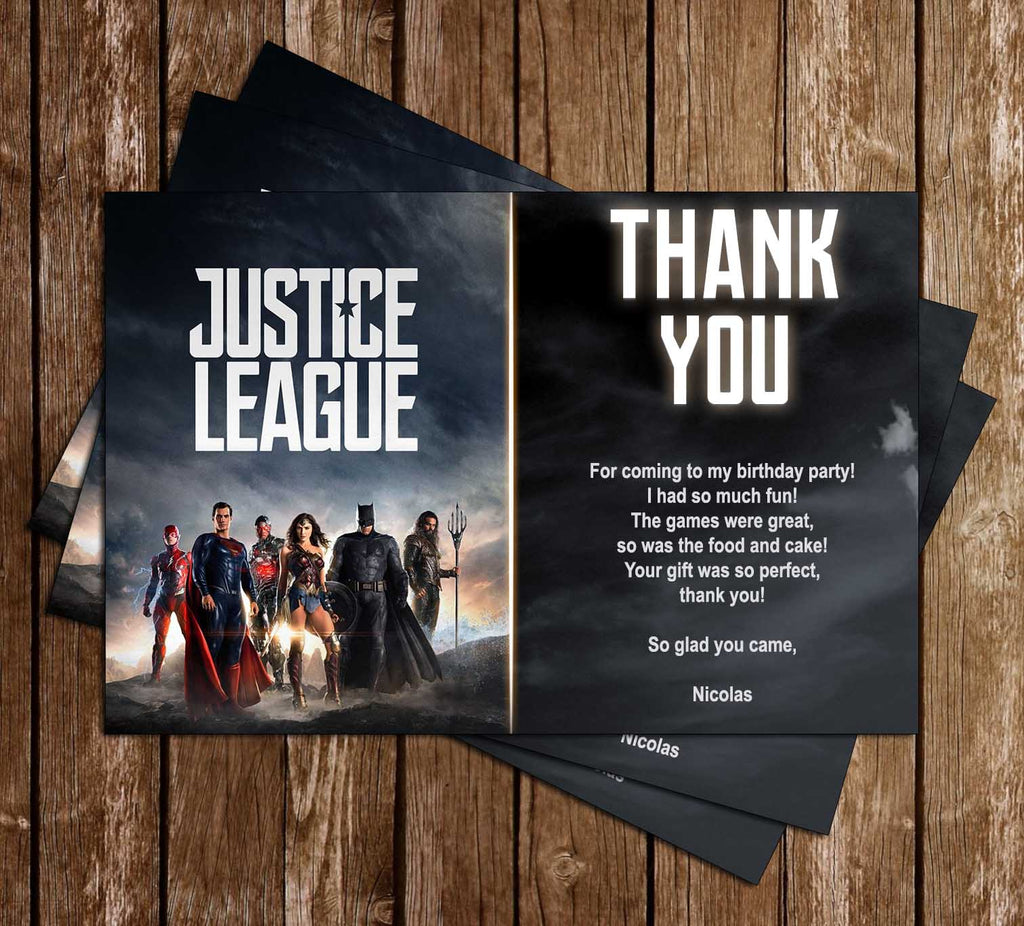 Novel Concept Designs - Justice League - Movie - Birthday Party ...