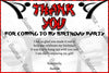 Karate - Martial Arts - Sports - Birthday Party - Invitation