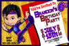 Kody Kapow - Tv Show - Birthday Party - Invitation