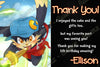 Klonoa Video Game Birthday Party Ticket Invitation