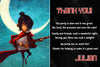 Kubo and the Two Strings - Birthday Ticket Invitation