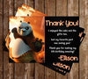 Kung Fu Panda Movie Thank You Card