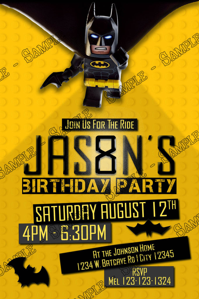 Novel Concept Designs - Lego Batman - Movie - Tall - Birthday ...