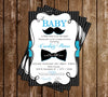 Little Gentleman - Gent - Baby Shower - Thank You Card