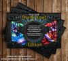 League of Legends Game Birthday Party Ticket Invitation