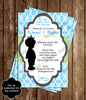 Royal Baby - Precious Little Prince - Baby Shower Invitation