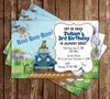 Little Blue Truck - Book - Birthday Party - Invitation