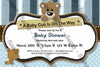 Little Baby Cub - Baby Bear - Baby Shower - Invitation