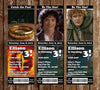 Lord of the Rings Movie Birthday Ticket Invitations
