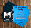 Light Blue - Graduation Invitation / Announcement