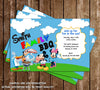 Disney Mickey Mouse BBQ Birthday Party Invitation