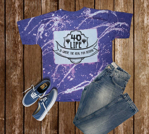 Magic the Gathering - 40 Life  - T-Shirt
