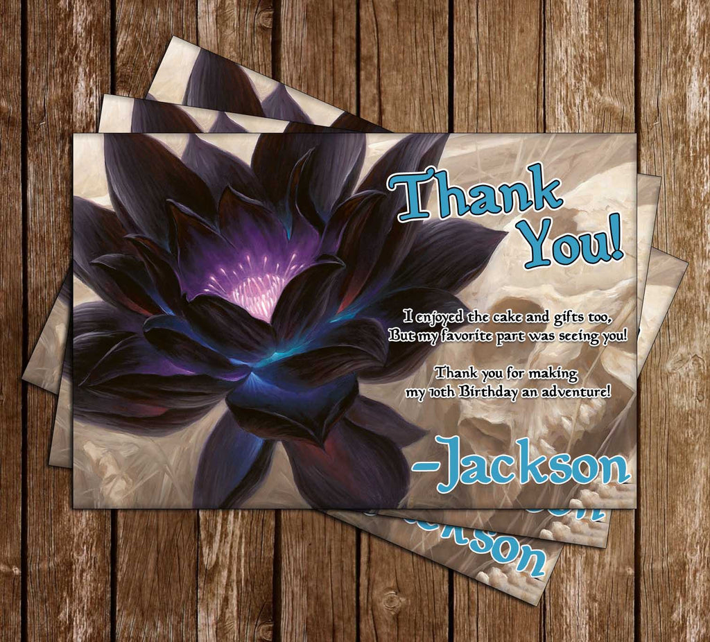 Magic the Gathering Thank You Card