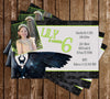 Maleficent Birthday Party Invitation with Photo