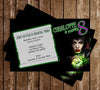Disney Maleficent Movie Birthday Party Invitation