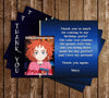 Mary and the Witch's Flower - Anime - Birthday Party - Thank You Card