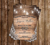 Country Elegant - Bridal Shower - Invitation