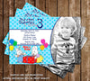 Max and Ruby Birthday Invitation (Photo)