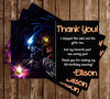 Super Metroid Video Game Birthday Thank You Card