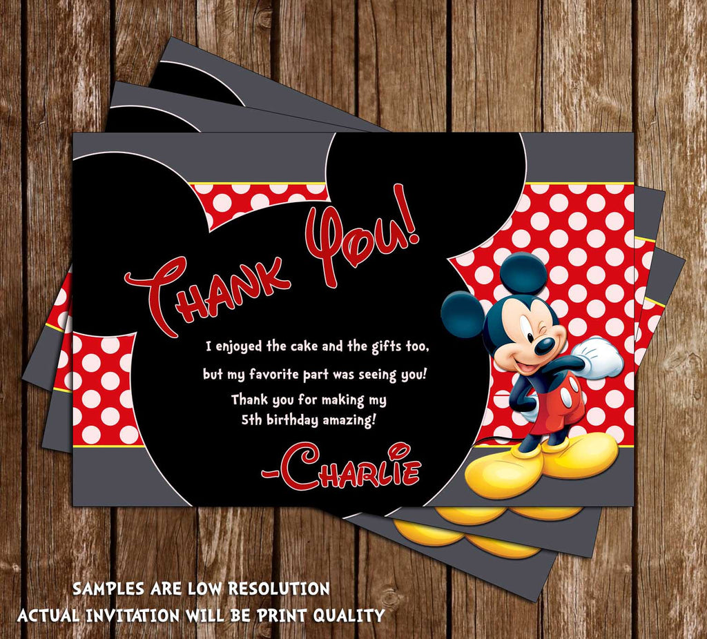 Novel Concept Designs Mickey Mouse Chalkboard Birthday