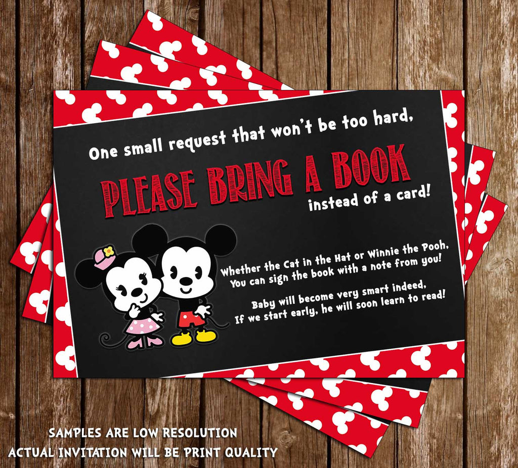 Novel Concept Designs - Mickey & Minnie Mouse - Gender Reveal - Baby ...