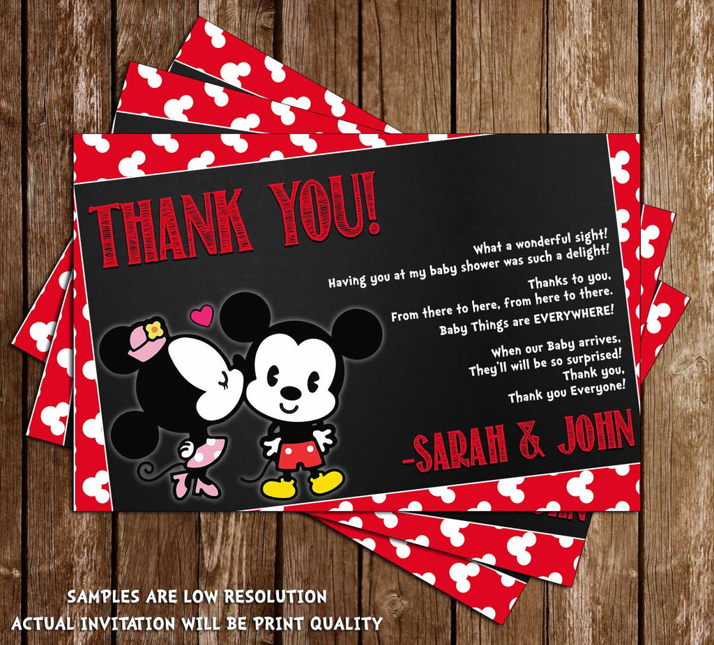 Novel Concept Designs Mickey Mouse Minnie Mouse Gender Reveal