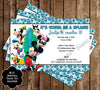 Mickey Mouse Pool Party / Beach Thank You Card