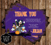Disney Mickey Mouse Spooky Halloween Birthday Party Ticket Invitation