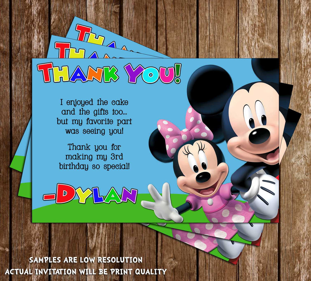 Novel Concept Designs - Mickey Mouse Clubhouse Birthday Party ...
