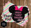 Mickey Mouse Two-dles Birthday Party Invitation