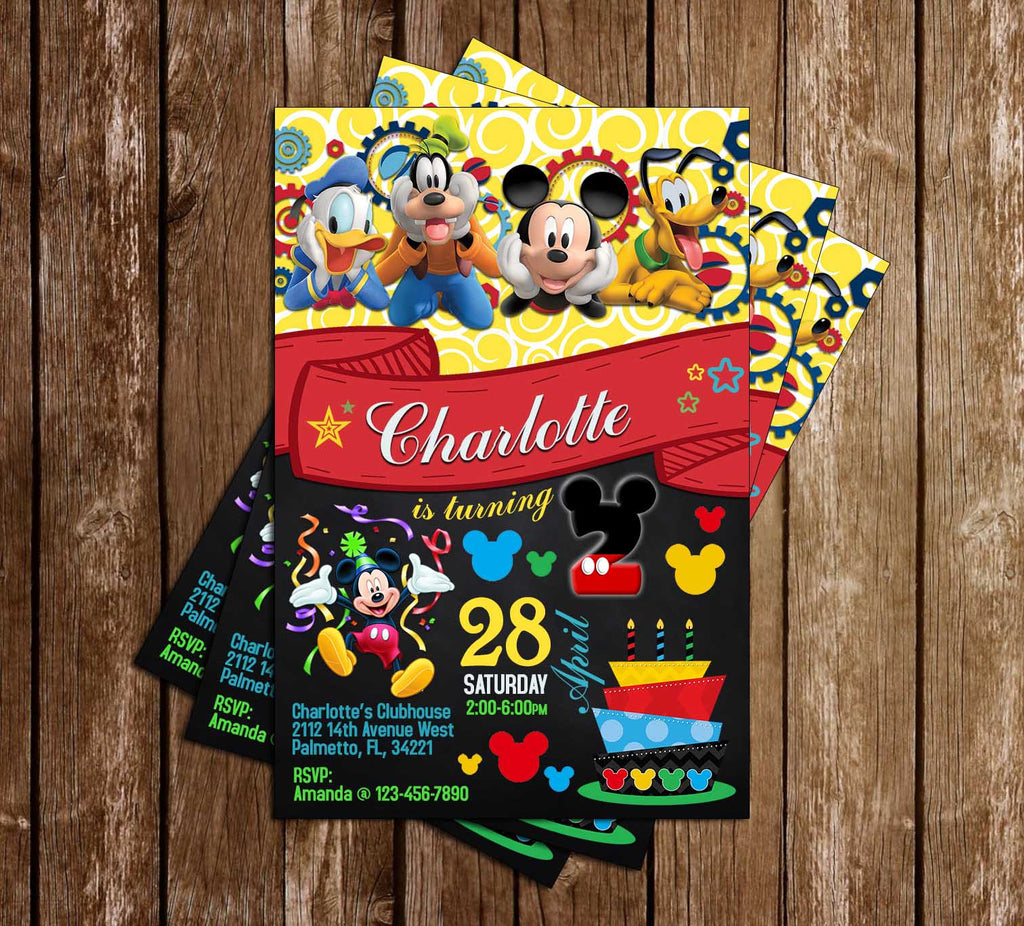 Novel Concept Designs Disney Mickey Mouse Clubhouse Chalkboard