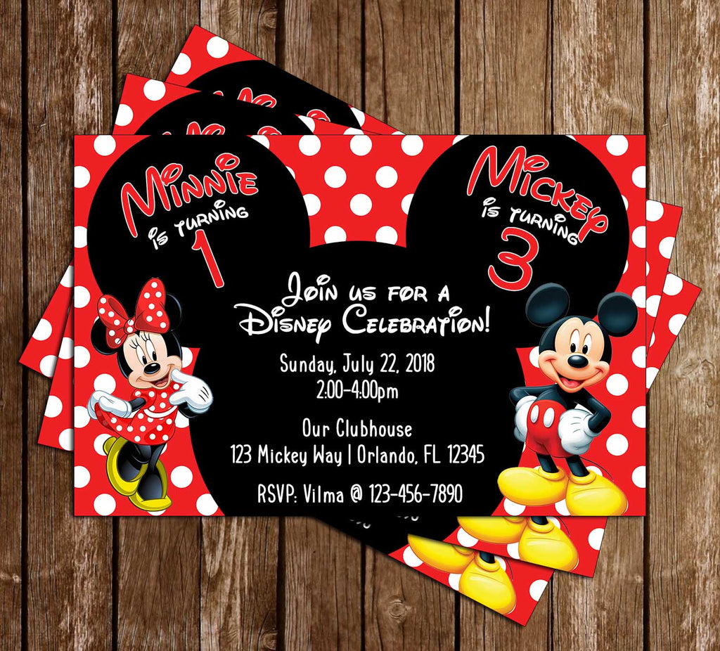 Novel Concept Designs - Mickey & Minnie Mouse - Polka Dots ...