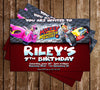 Disney - Mickey Mouse Roadsters - Birthday Party Invitation